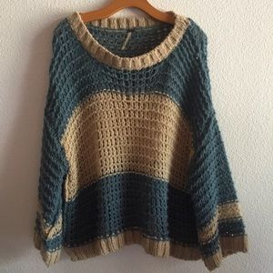 Free People Bell Sleeve Sweater (Alpaca)